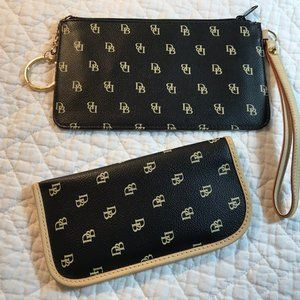 Dooney & Bourke  Wristlet and Eyeglass Case